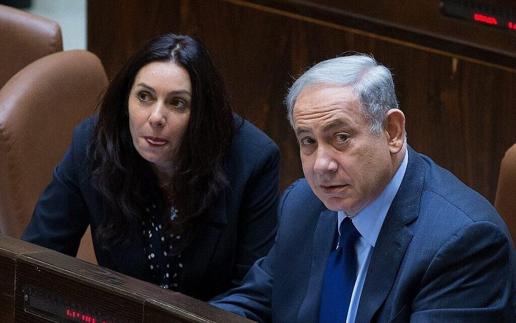 """Miri Regev, do Likud, enfrenta reação contra alegações de que """"DNA branco"""" governa o partido"""