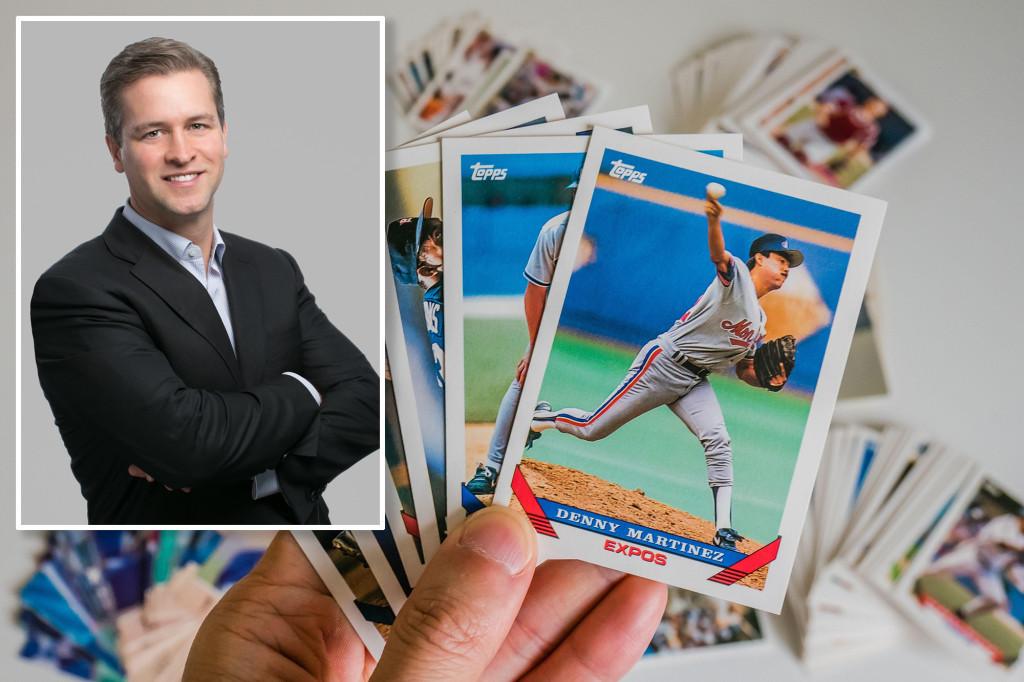 O negócio da Topps foi cancelado para o público depois que a MLB finalizou um negócio de cartas colecionáveis de 70 anos