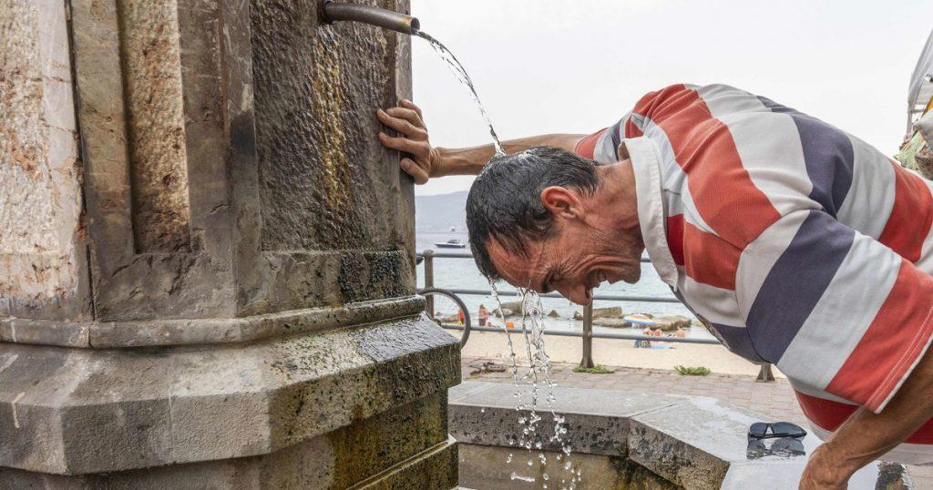 A Itália pode ter tido o dia mais quente de todos na Europa