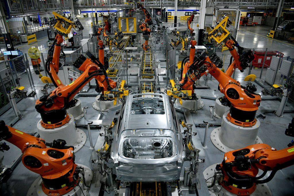 BMW constrói carro novo na fábrica da Carolina do Sul