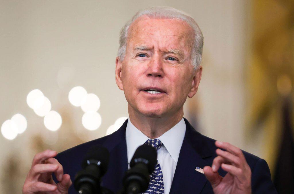 Biden fala à nação sobre o Afeganistão e a aquisição do Taleban