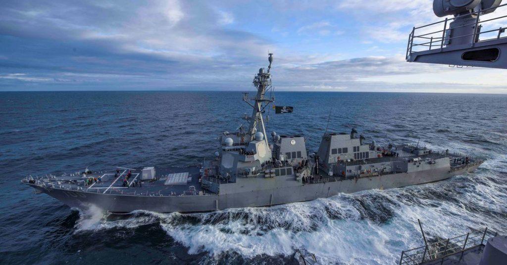 Navio de guerra dos EUA cruza o Estreito de Taiwan após exercícios ofensivos chineses
