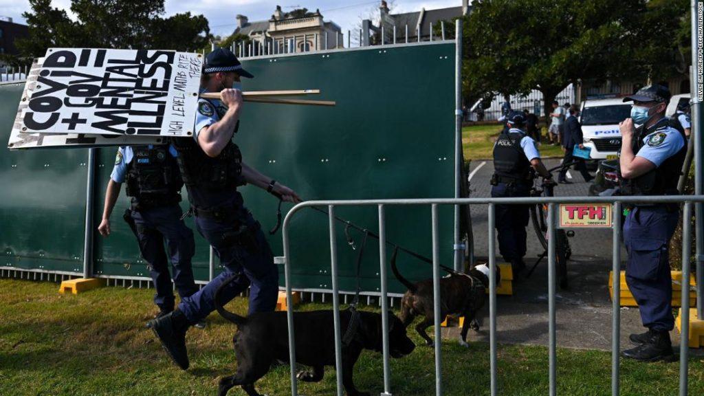 """O primeiro-ministro australiano sugere o final de """"Covid Zero"""""""