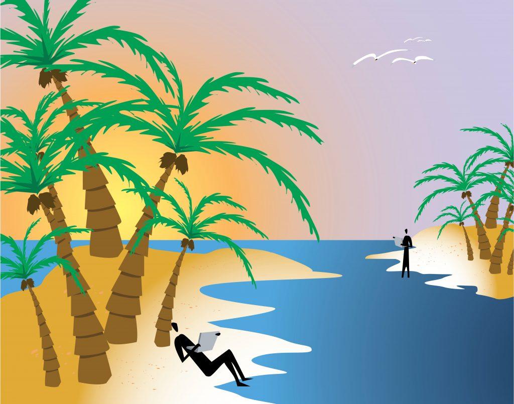 Quais ilhas do Caribe estão abertas apenas para viajantes de férias?