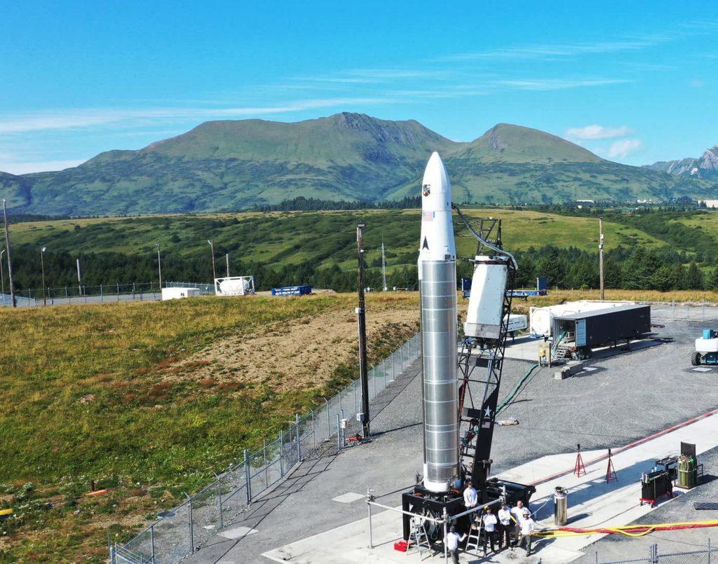 Veja o fabricante de foguetes Astra fazer uma segunda tentativa de lançar um míssil do Alasca