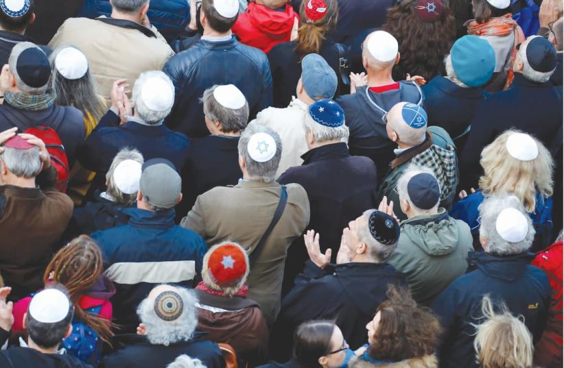Existem 15,2 milhões de judeus no mundo - dados da Agência Judaica