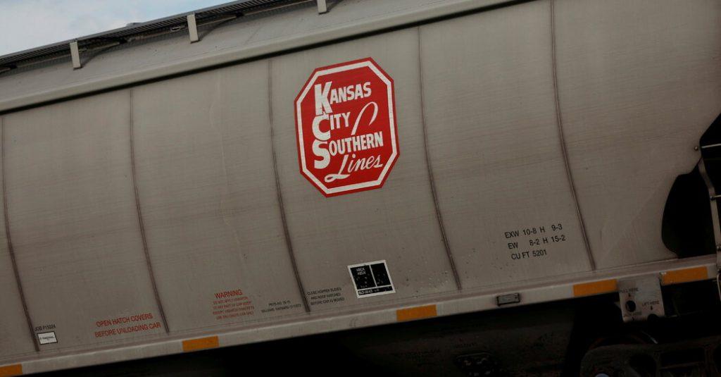 Kansas City Southern escolhe pretendente para conectar ferrovias da América do Norte