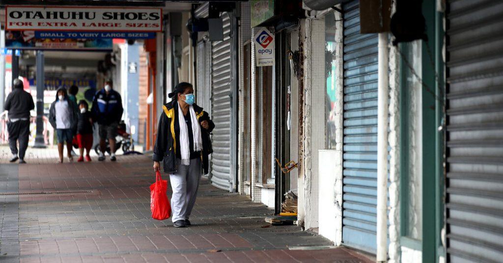 Nova Zelândia facilita bloqueio da Covid em Auckland
