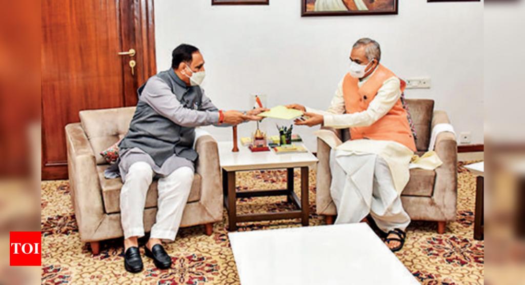 Vijay Rupani renuncia ao cargo de CM de Gujarat em 'transformação' da imagem do BJP    Notícias da Índia