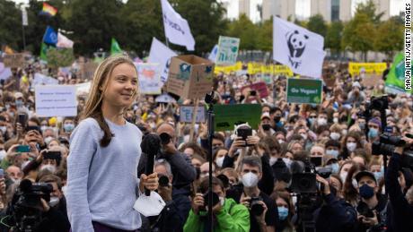 A ativista climática Greta Thunberg também pode concorrer ao Prêmio Nobel da Paz.