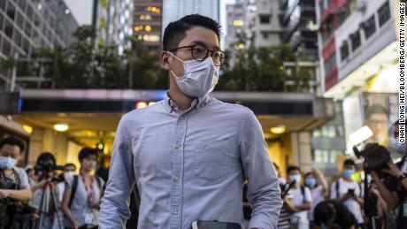 Nathan Low pode ser um candidato por seu ativismo pró-democracia em Hong Kong.