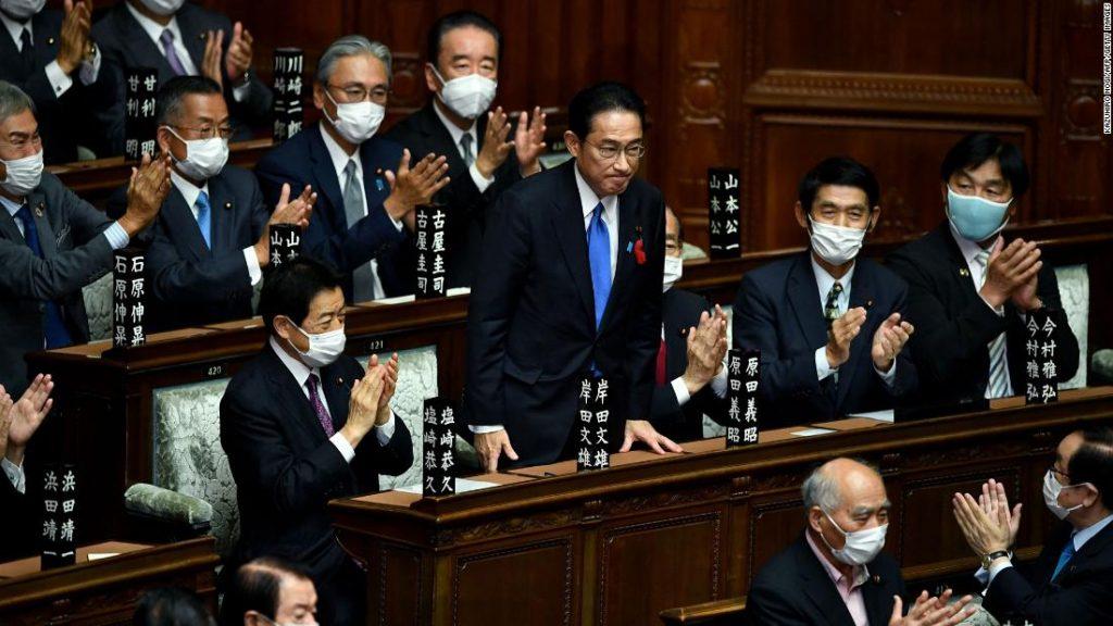Fumio Kishida assume o cargo de novo primeiro-ministro do Japão