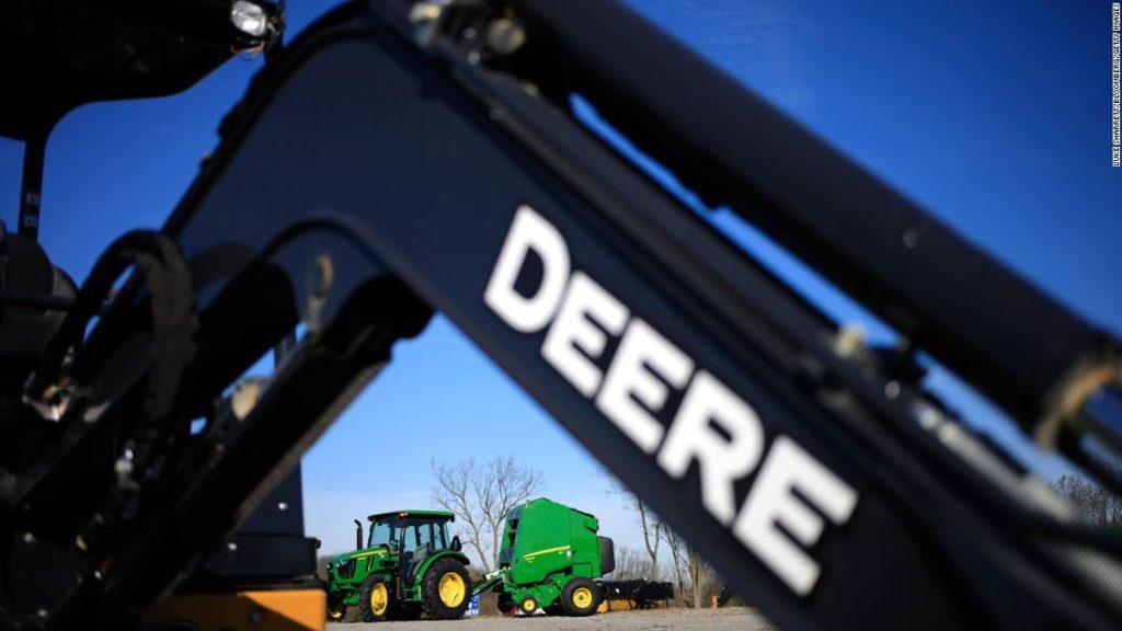John Deere: UAW em greve contra fabricante de equipamentos de construção e agricultura