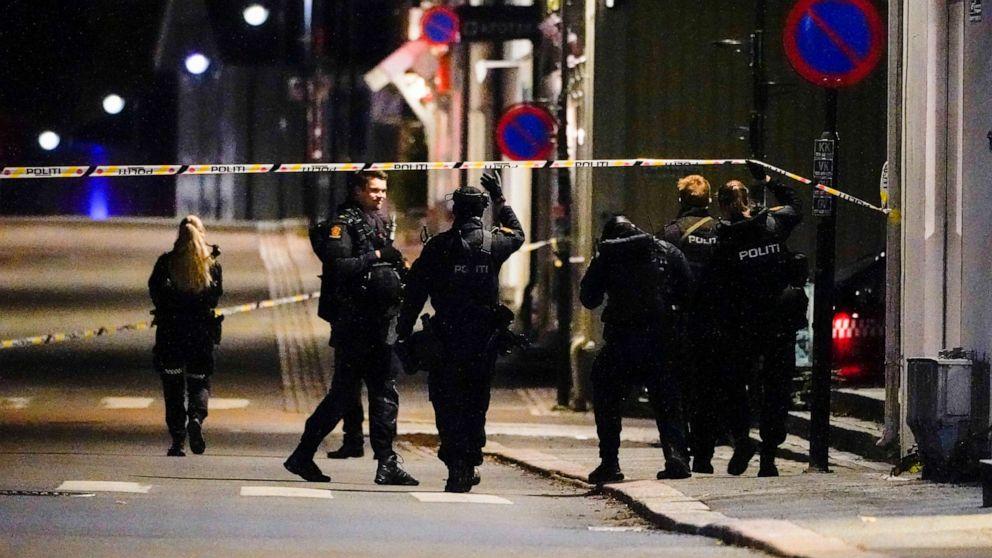 5 mortos e 2 feridos em um ataque aleatório com arco e flecha na Noruega