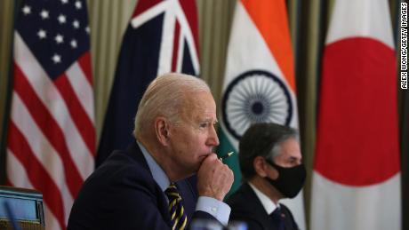 Política EUA-China: Biden combina Japão, Austrália e Índia para olhar para a China