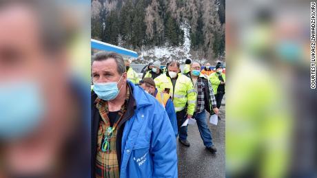 Os trabalhadores que mantêm as cadeias de abastecimento globais em funcionamento alertam sobre & # 39;  colapso do sistema & # 39;