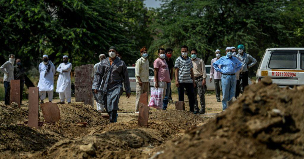 O mais alto tribunal da Índia ordena pagamentos às famílias das vítimas de Covid