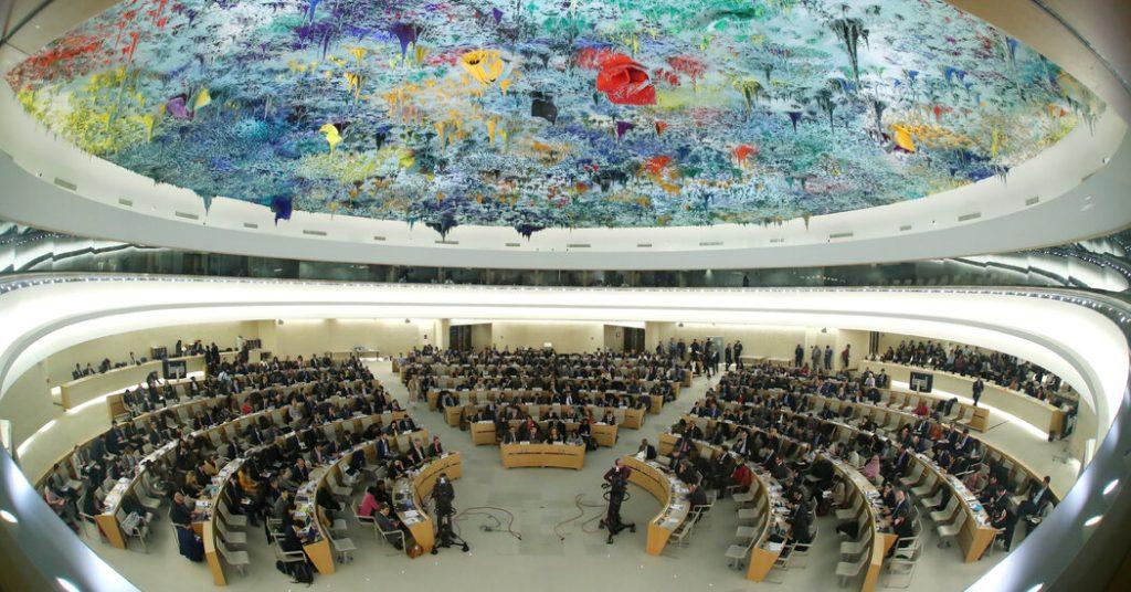 Os Estados Unidos recuperam seu assento no Conselho de Direitos Humanos das Nações Unidas, 3 anos após deixá-lo