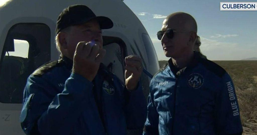 William Shatner bate um recorde espacial com Blue Origin Spaceflight